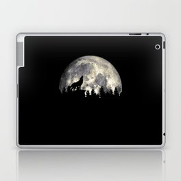 Wild Solitary Wolf Laptop & iPad Skin
