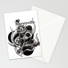 InsanitynArt's The True King of Hearts Original Illustration Stationery Cards