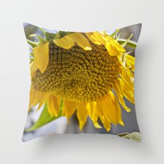 Take Cover [SUNFLOWER] Throw Pillow