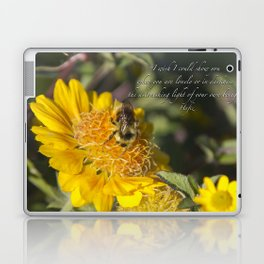 Light of Your Own Being Laptop & iPad Skin