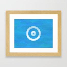 Water Sight Framed Art Print