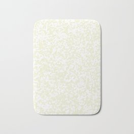 Small Spots - White and Beige Bath Mat