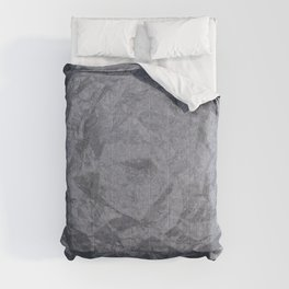 Grunge cracked marble Comforters