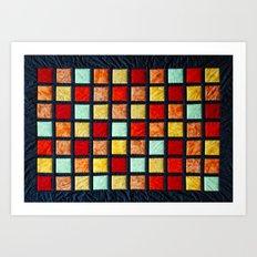 patchwork 001 Art Print