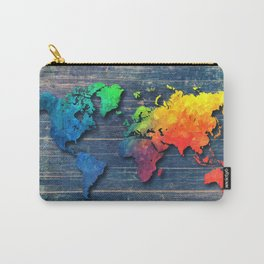 World map special 8 Carry-All Pouch