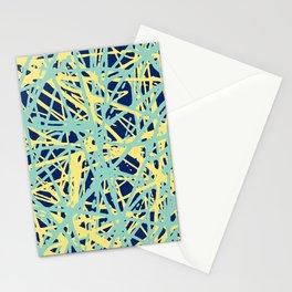 Daisy Scribble Navy, Mint and Lemon Stationery Cards