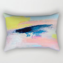 Dreamy Abstract pink Art  Rectangular Pillow