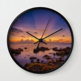 Matheson Hammock Park Sunrise Wall Clock