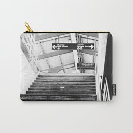 Subway Station in Astoria, Queens in March Carry-All Pouch