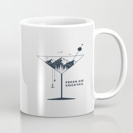 Fresh Air Cocktail Coffee Mug
