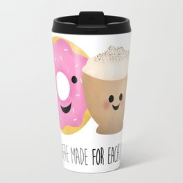 We Were Made For Each Other Travel Mug