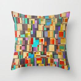 Community Brazil Throw Pillow