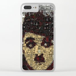 A Cheeky Silent Chap Clear iPhone Case