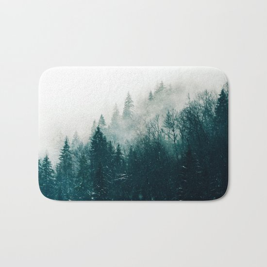 The Silent Forest #society6 #decor #buyart Bath Mat
