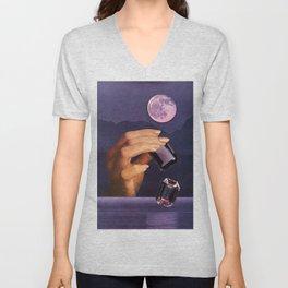 Moon Stones Unisex V-Neck