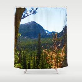 Mt Fall Intense Shower Curtain