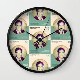 Marco Rubio Wall Clock