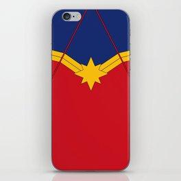 CaptainMarvel Costume iPhone Skin