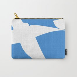 Greek Flag the Wisdom of God, Freedom and Country Carry-All Pouch