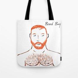Beard Boy Flame 1 Tote Bag