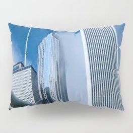 Downtown City Structures Pillow Sham