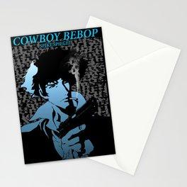 Cowboy Bebop blue spike Stationery Cards