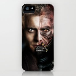 The Chosen One (unmasked Vader) iPhone Case