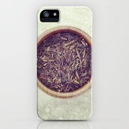 Green Tea iPhone Case