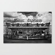 Music Express Canvas Print