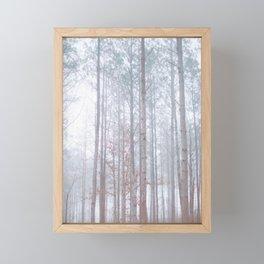 Foggy Trees Framed Mini Art Print