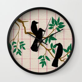 A murder Wall Clock