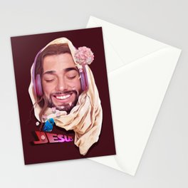 Young Jesus Stationery Cards