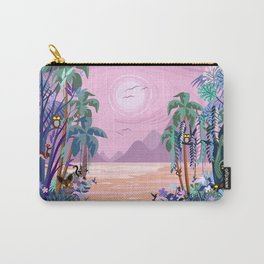 The Eyes of the Enchanted Misty Forest Carry-All Pouch