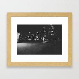 Love in Chicago Framed Art Print
