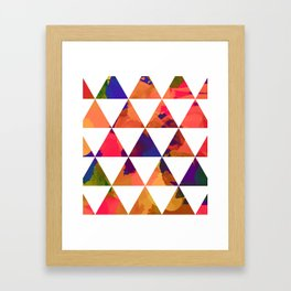 THESE MOUNTAINS SING Framed Art Print