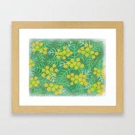 Tansy Framed Art Print