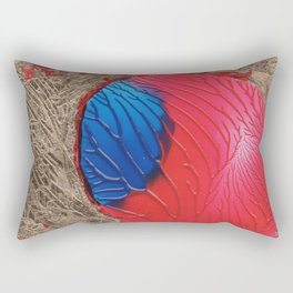 The tree of life gold abstract Rectangular Pillow