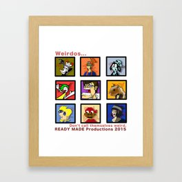 Ready Made Productions Promo Poster 2015 Framed Art Print