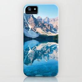 Moraine Lake, Canada #buyart #society6 iPhone Case