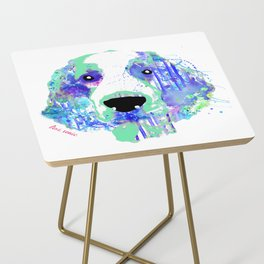 aurora the welshie Side Table