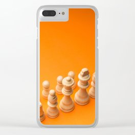 Chess8 Clear iPhone Case