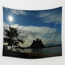 When The Sun Goes Down Wall Tapestry