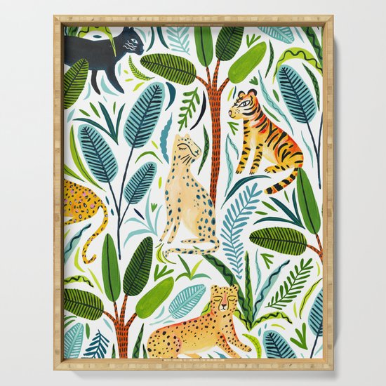 Jungle Cats by amberstextiles