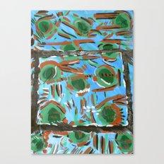 Mississippi Blue Canvas Print