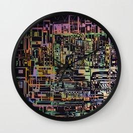 Urban Vibes / Density Series Wall Clock