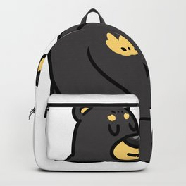 Bear North Pole Gift Brown Panda Funny Cool Backpack