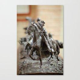 Tauromachie, horse Canvas Print
