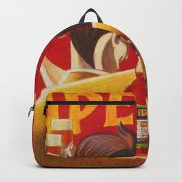 Aperol Alcohol Aperitif Spritz Vintage Advertising Poster Backpack