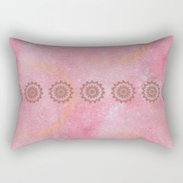 Knotted Floral Rectangular Pillow
