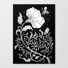 Abuzz Canvas Print